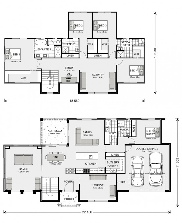 Greenbay 356 Floorplan
