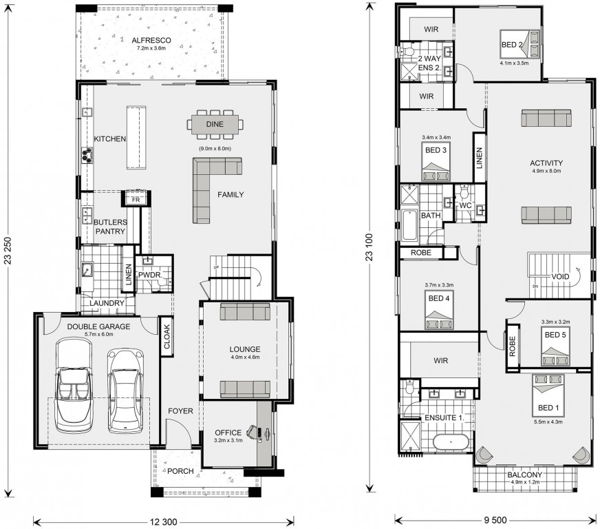 Kingscliff 421 Floorplan