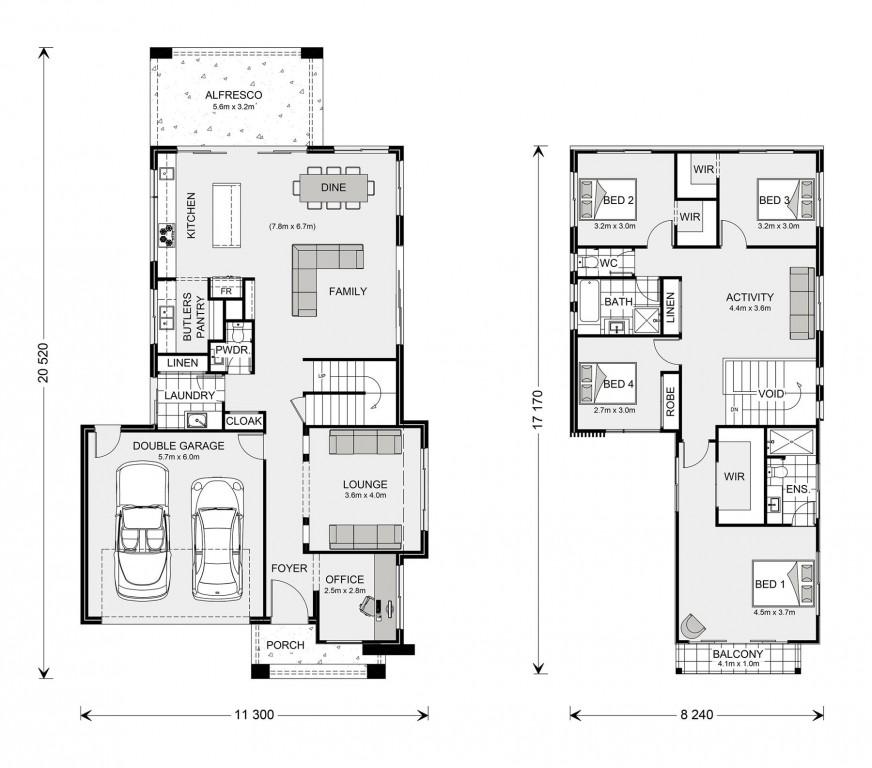Kingscliff 285 Floorplan