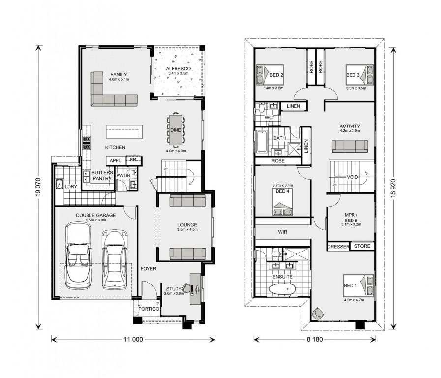 Manhattan Floorplan