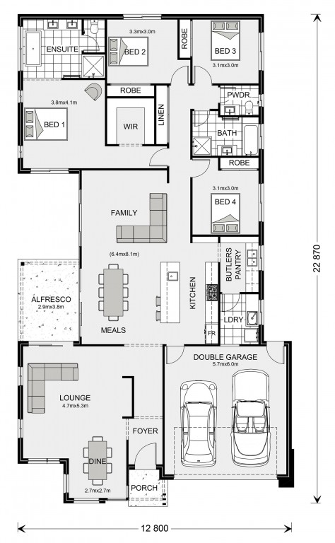 Northside 252 Floorplan