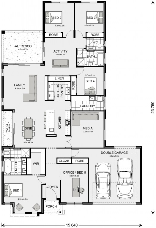 Benowa 280 Floorplan