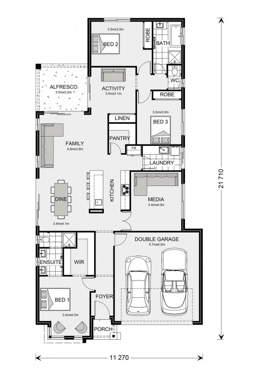 Benowa 210 Floorplan