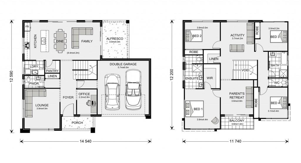 Esplanade 294 Floorplan