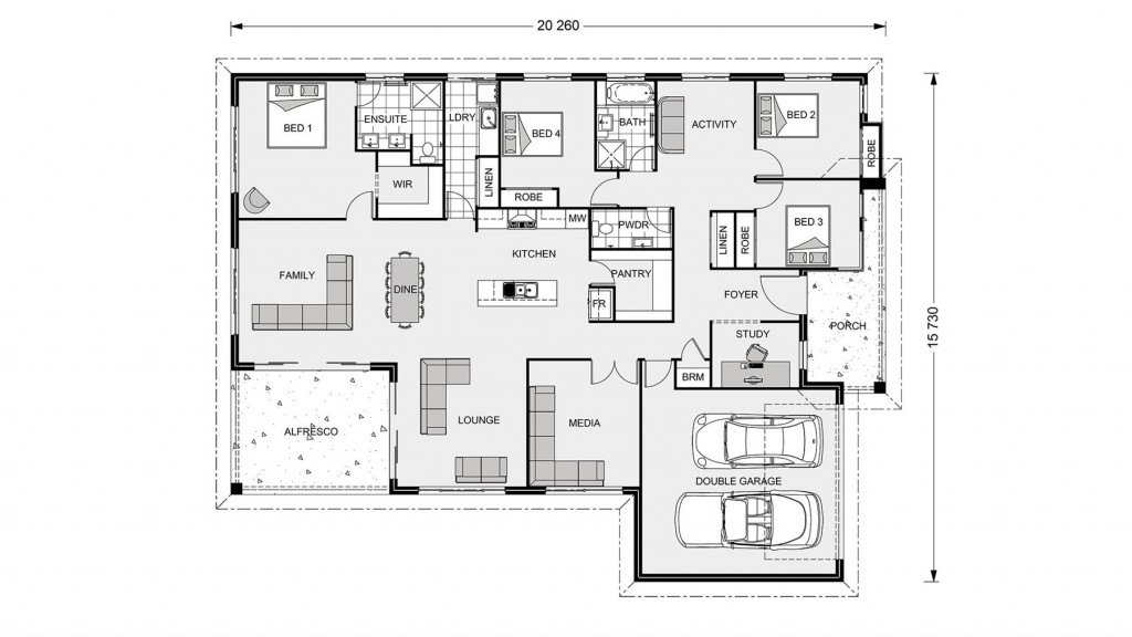Iluka 276 Floorplan