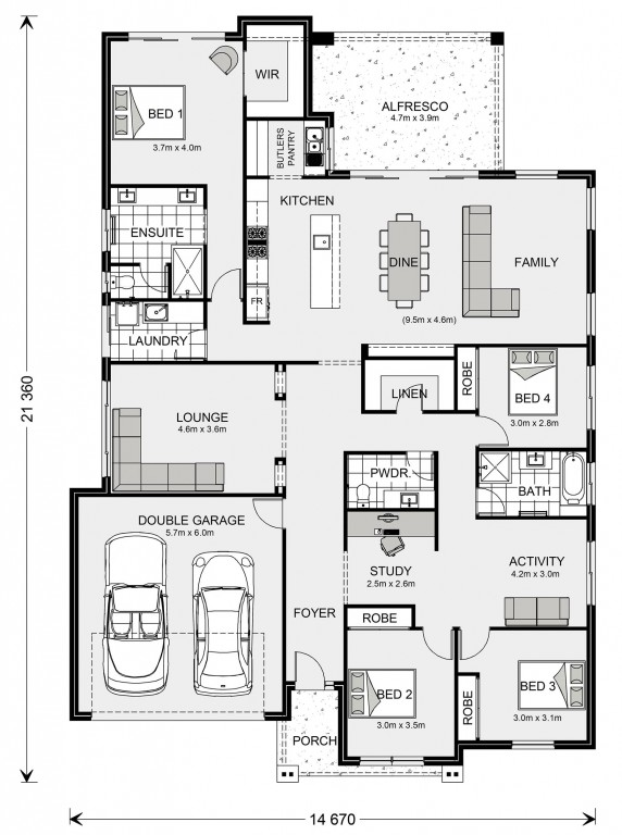 Forest Park 272 Floorplan