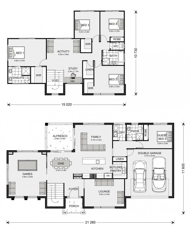 Greenbay 322 Floorplan