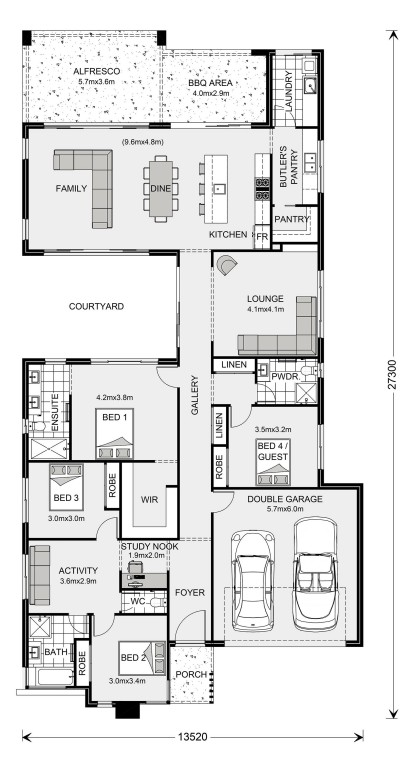 Stillwater 290 Floorplan