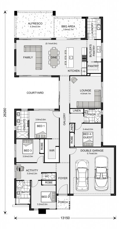 Stillwater 270 Floorplan