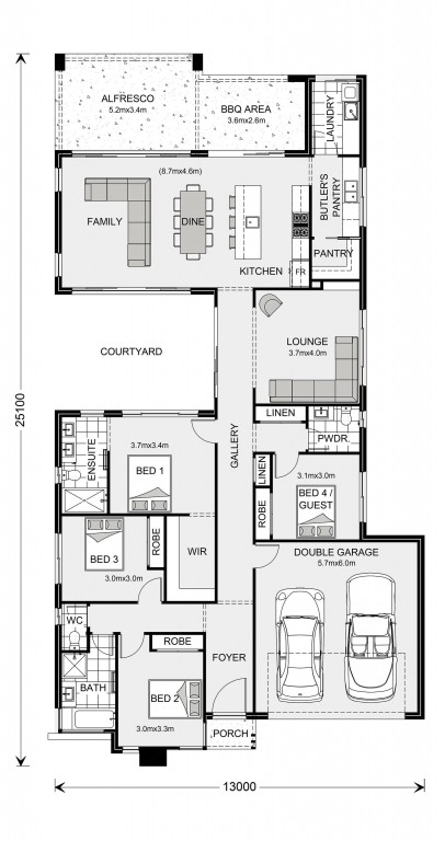 Stillwater 250 Floorplan