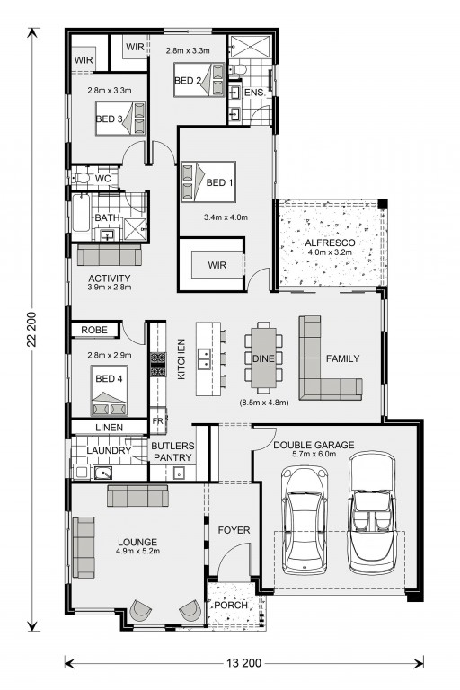 Elanora 240 Floorplan