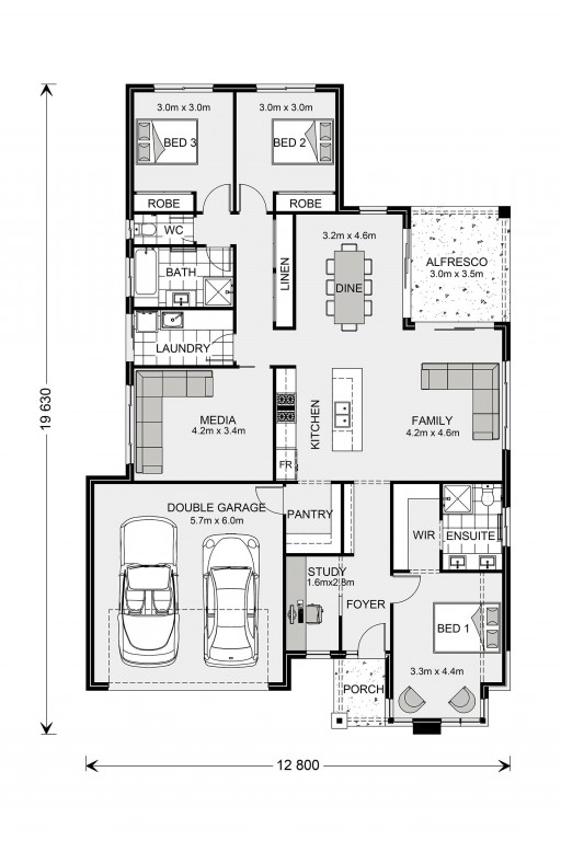 Coolum 205 Floorplan