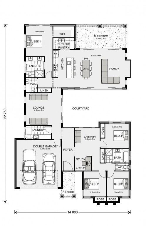Mandalay 260 Floorplan