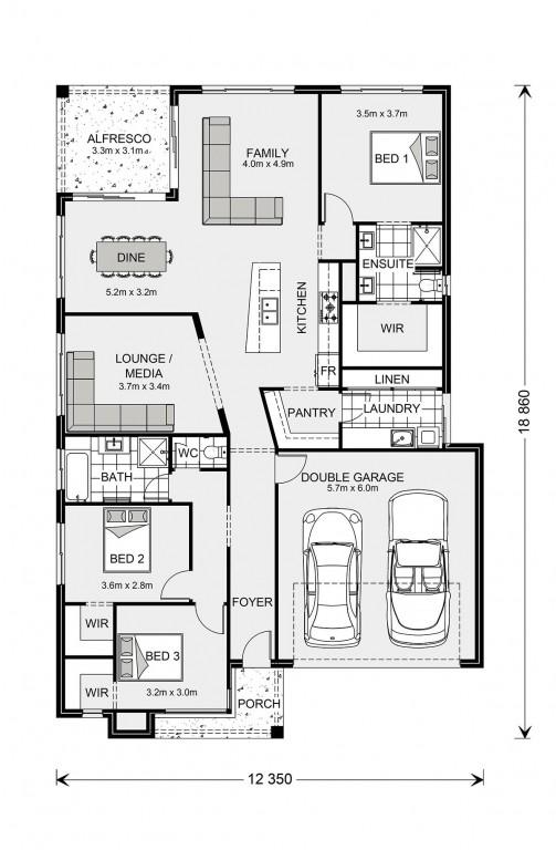 Beachlands 210 Floorplan