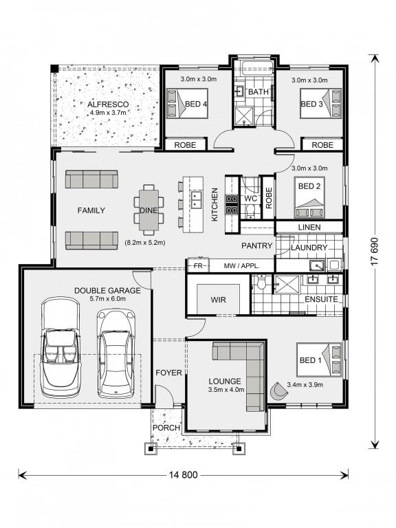 Glenview 225 Floorplan
