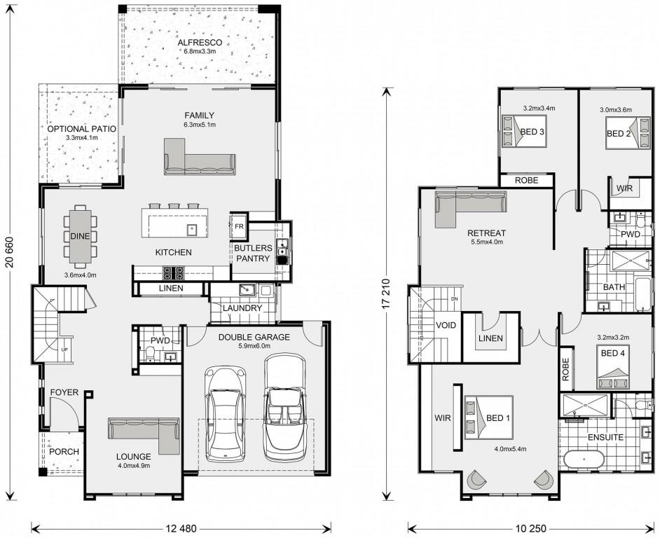 Avalon Bay 342 Floorplan