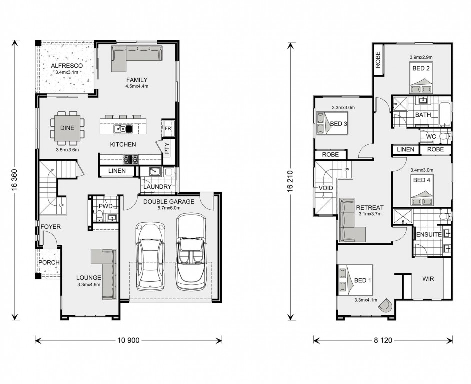 Avalon Bay 255 Floorplan