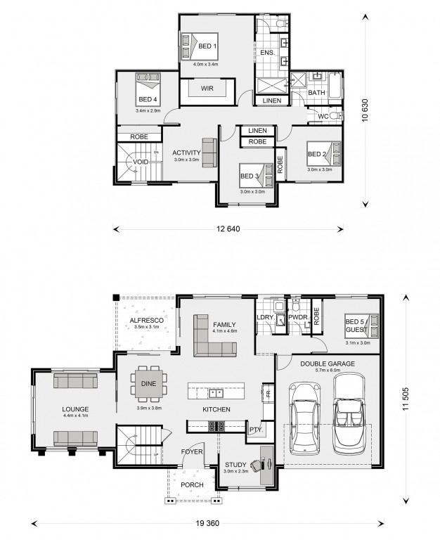 Greenbay 274 Floorplan