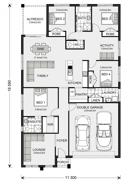 Brookfield 204 Floorplan