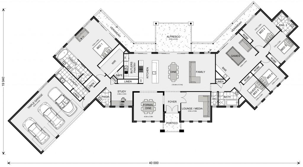 Montville 420 Floorplan
