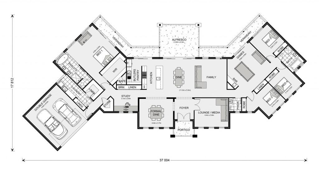 Montville 380 Floorplan