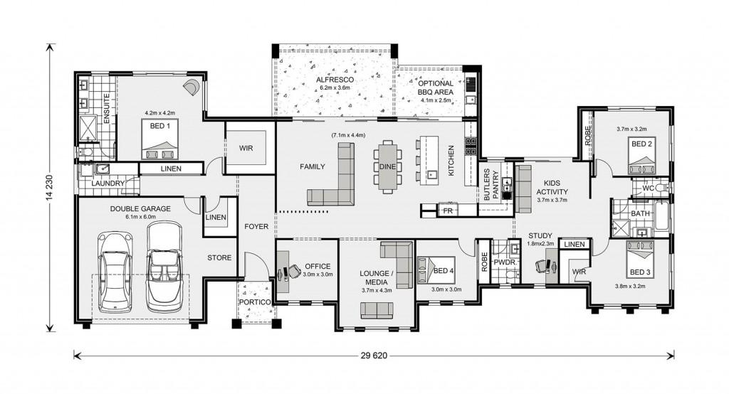 Rochedale 325 Floorplan