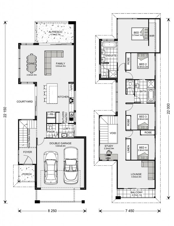 Nelson Bay 264 Floorplan