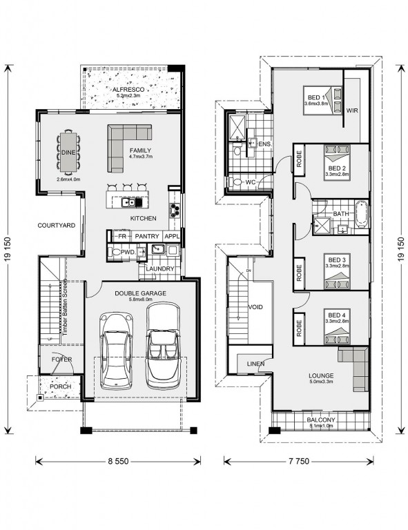 Nelson Bay 249 Floorplan