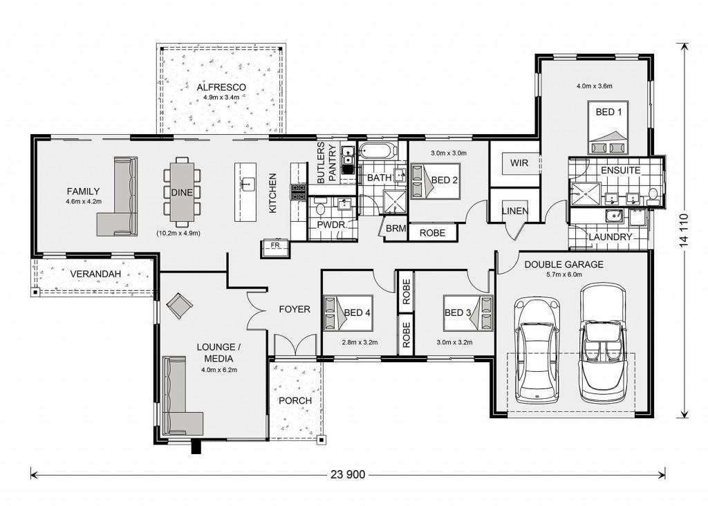 Fernbank 253 Floorplan