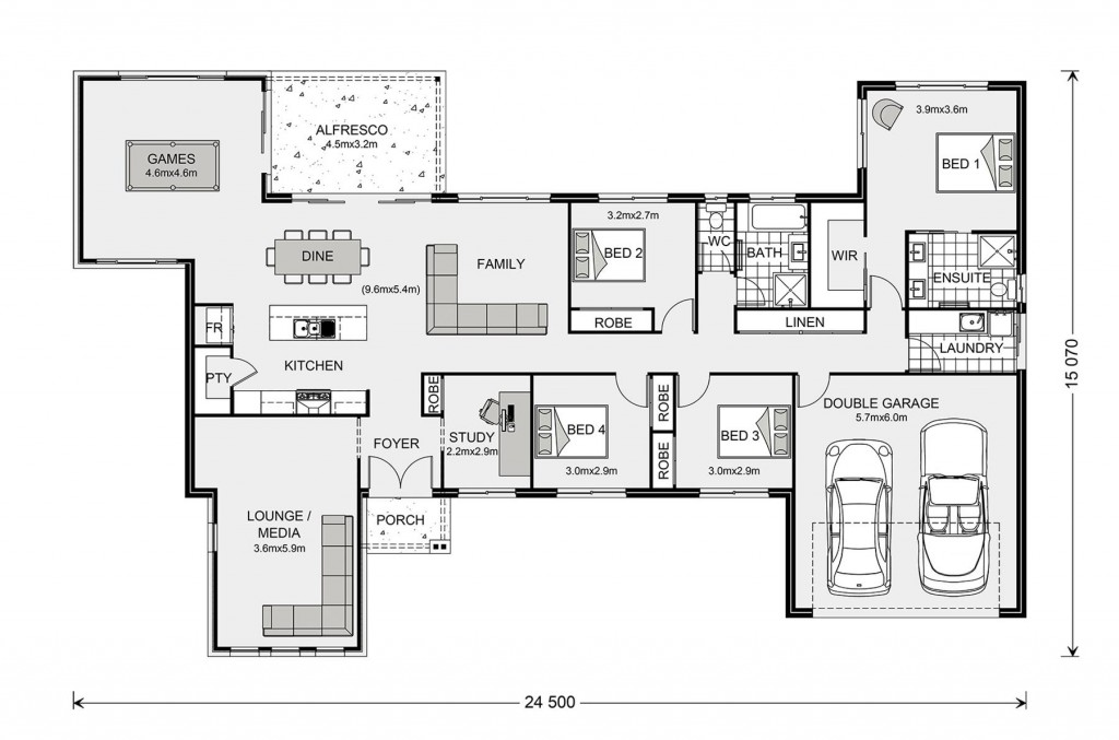 Kingaroy Estate 255 Floorplan