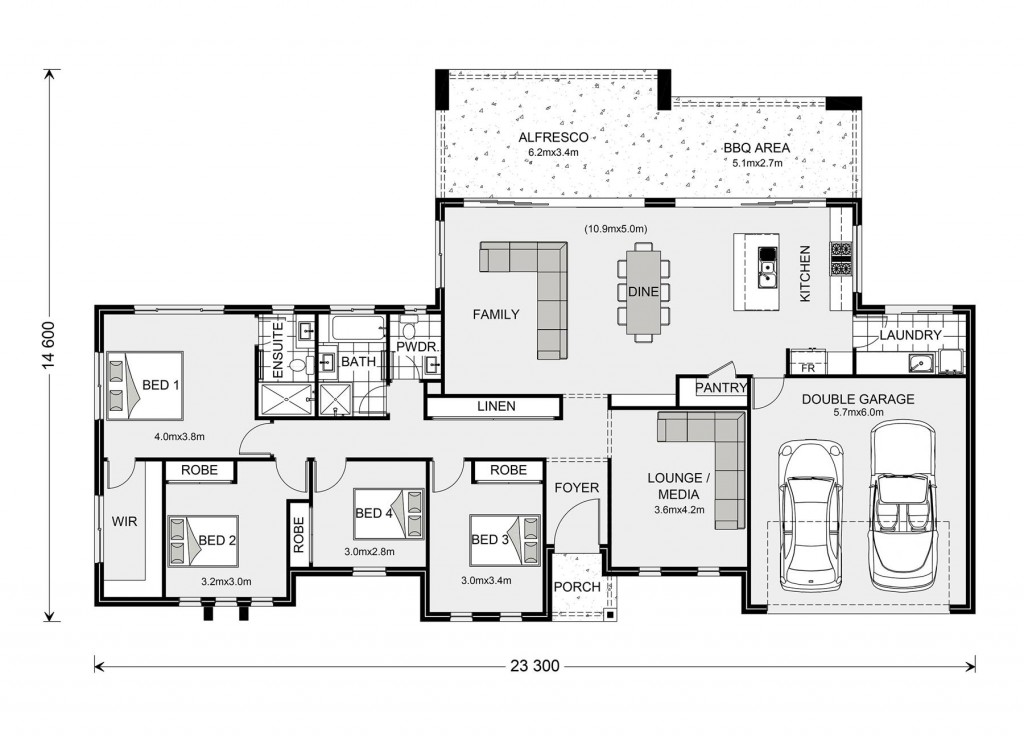 Stillwater Estate 250 Floorplan