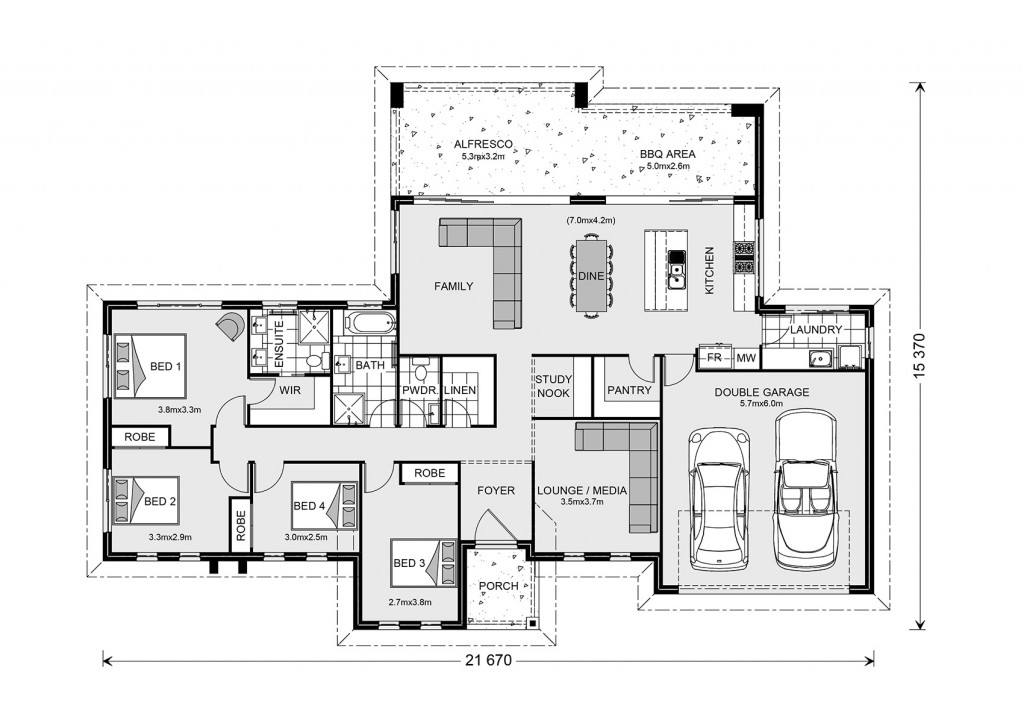 Stillwater Estate 235 Floorplan