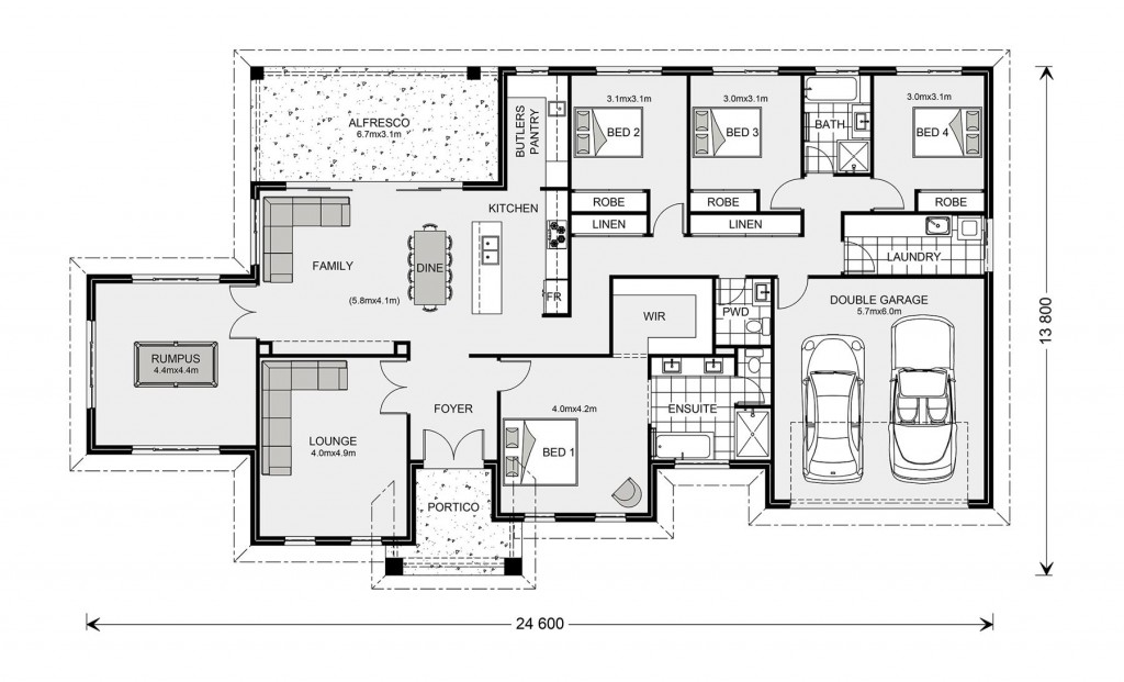 Oakdale Estate 272 Floorplan