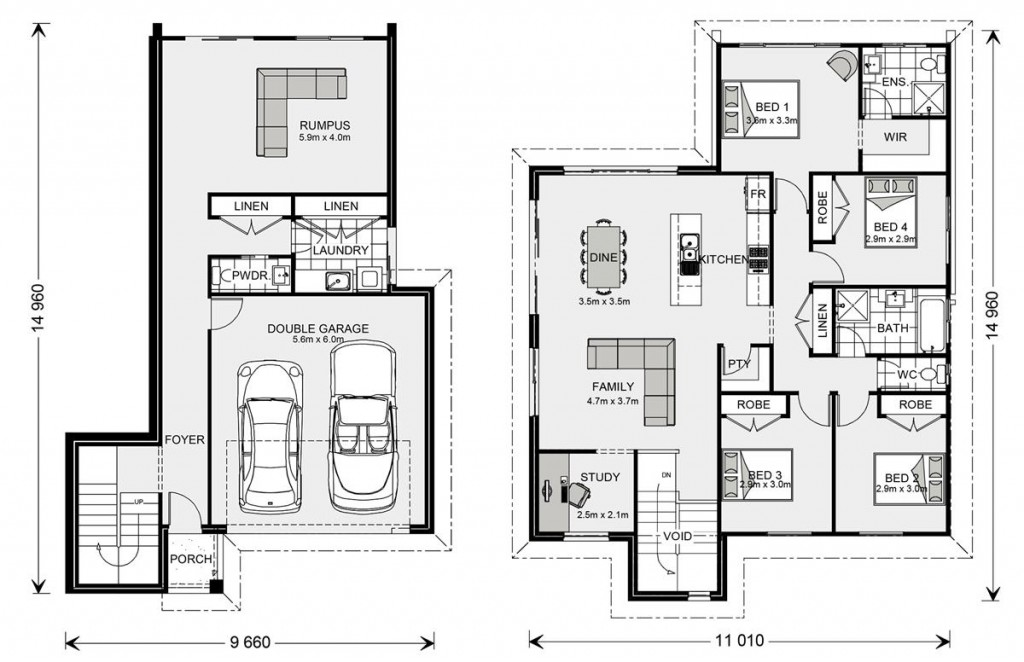 Regatta SL 234 Floorplan