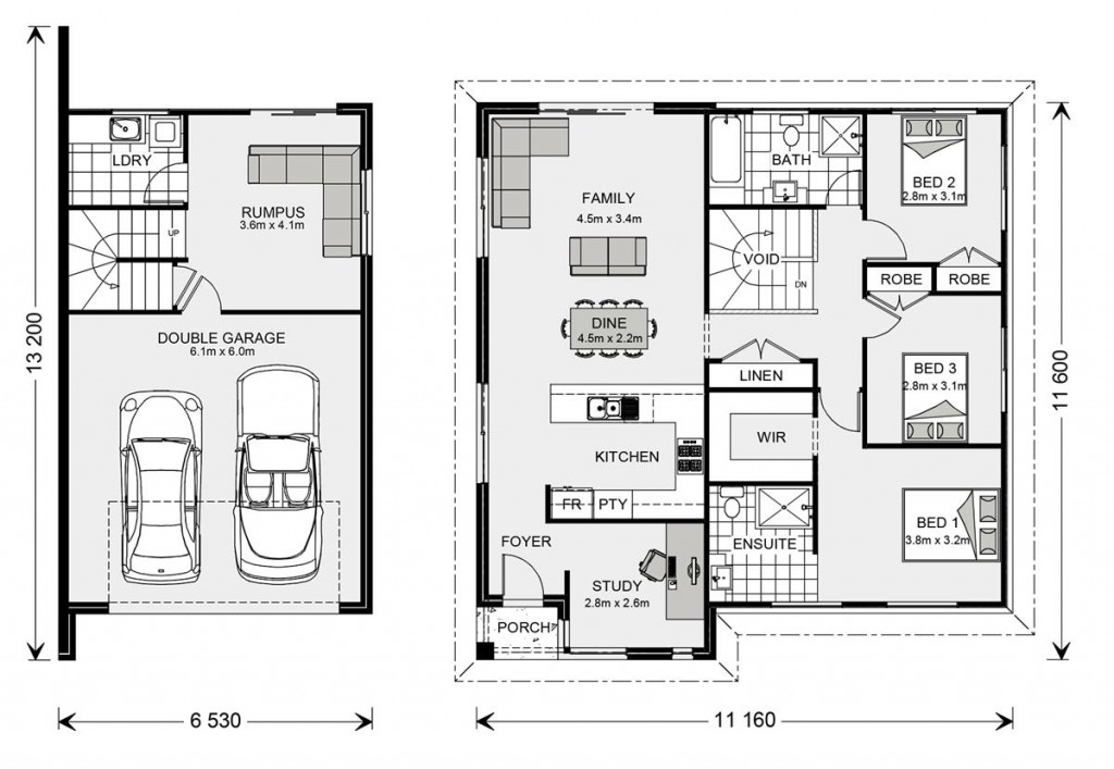 Regatta SL 190 Floorplan