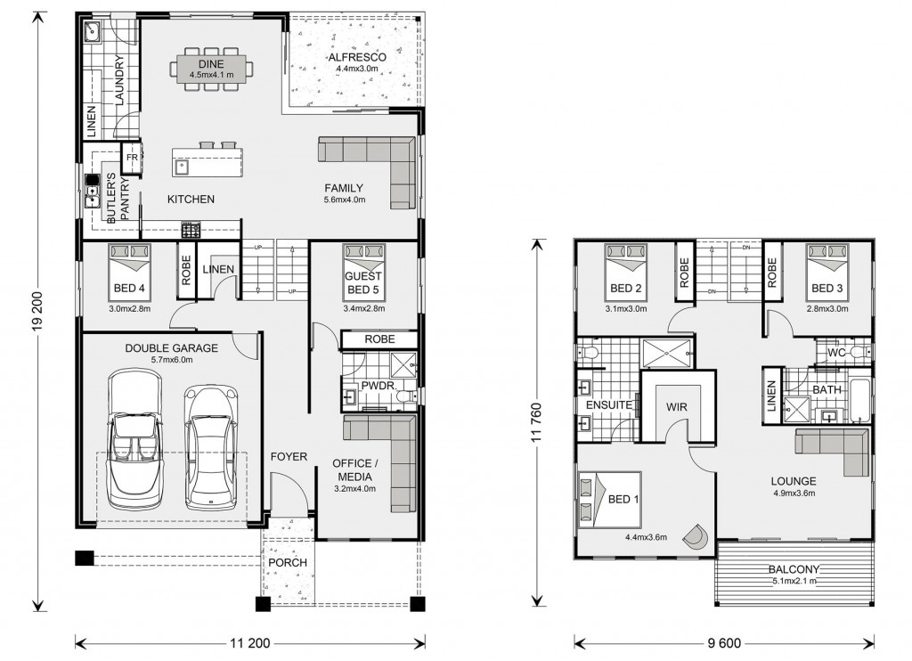 Seaview 297 Split Floorplan