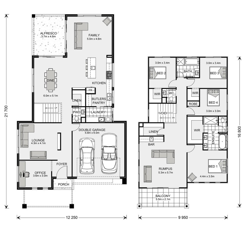 Seaview 344 Floorplan