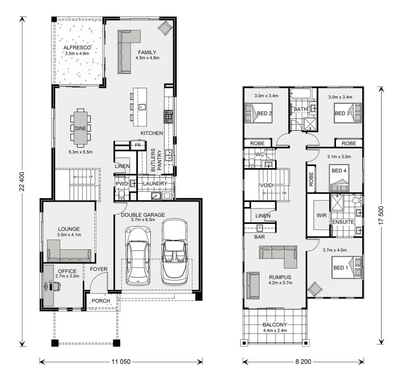 Seaview 315 Floorplan