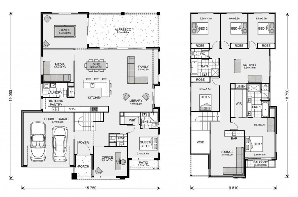 Hawthorn 430 Floorplan