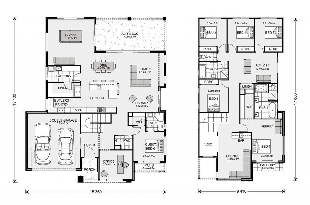 Hawthorn 395 Floorplan