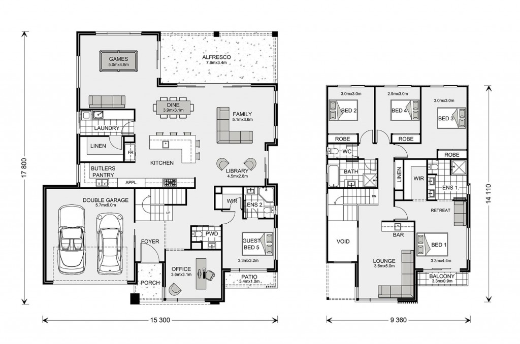 Hawthorn 360 Floorplan