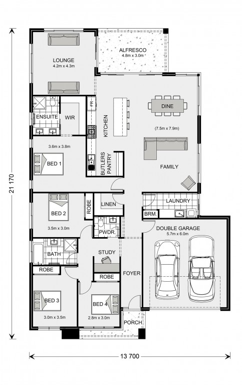 Broadbeach 245 Floorplan