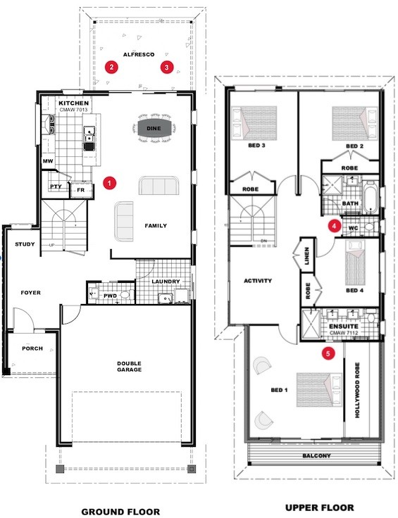 Jindalee 242 - Express Series Floorplan