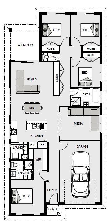 Pacific 185 - Express Series Floorplan