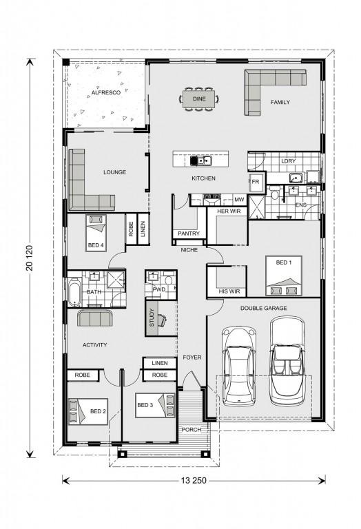 Casuarina 255 - Element Series Floorplan