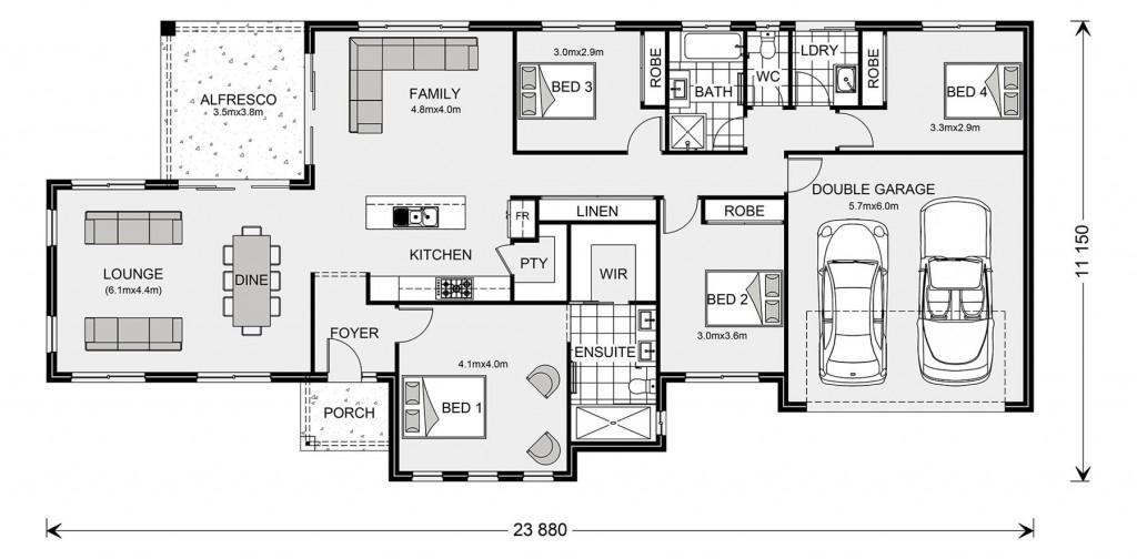 Rothbury Estate 221 Floorplan