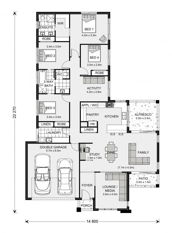 Parkview 240 - Element Series Floorplan