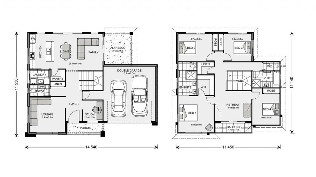Esplanade 260 Floorplan