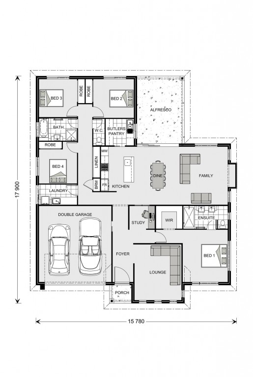 Fernbank 242 - Element Series Floorplan