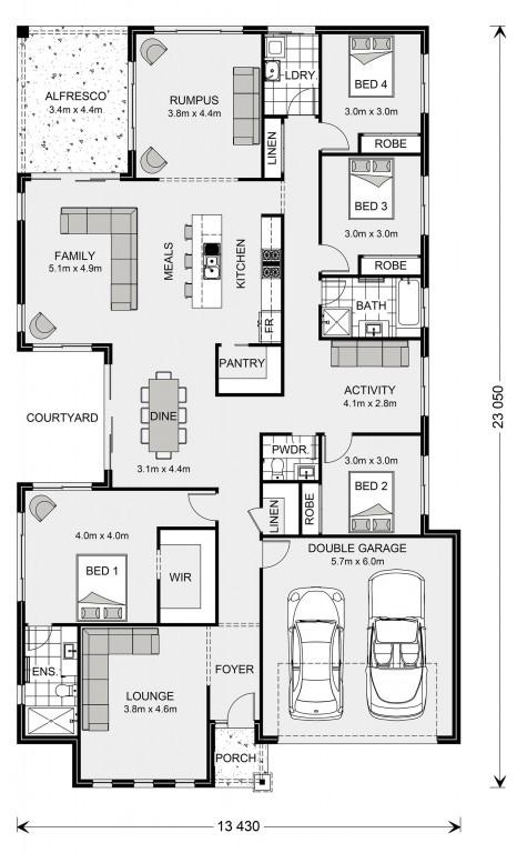 Sunbury 275 - Express Series Floorplan